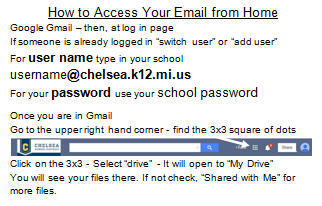 How to access email from home